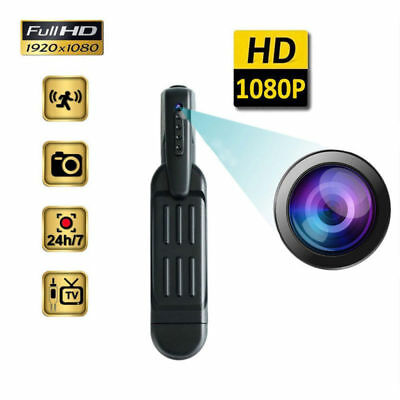 HD 1080P Pocket Pen Camera Hidden Spy Mini Portable Body Video Recorder DVR USA