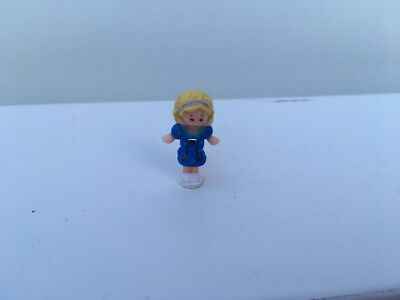 Vintage Polly Pocket Pollys Drive Thru Burger Replacement Spare Figure - Polly