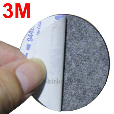 3M™ 9448A Diameter 35mm Circle Coin Black Double Sided /& Coated Adhesive PAD 2mm