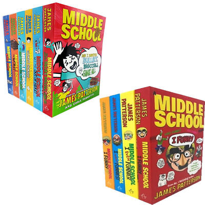Middle School Series Collection By James Patterson 10 Books Set New Paperback
