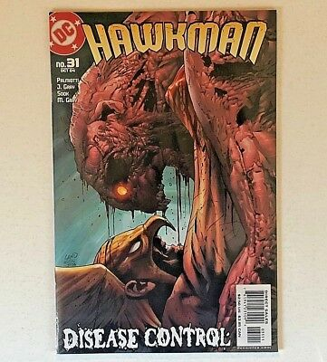 Hawkman #31 (DC Comics) Oct. 2004, with Sky Captain Game/DVD sealed LAND SOOK