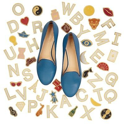Charlotte Olympia 'ABC' and 'Icon' leather Stickers