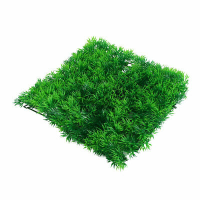 Aquarium Fish Tank Plastic Simulation Landscape Plant Grass Lawn Ornament Green