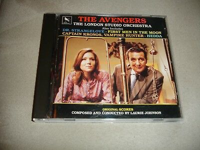 THE AVENGERS :ORIGINAL Score By Laurie Johnson & The London