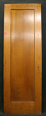 "9 avail 28""x83 Antique Vintage Arts Crafts Interior SOLID Wood Wooden Door Panel"