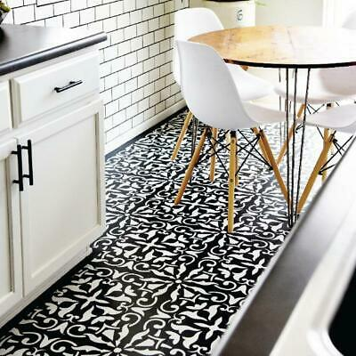 ROBYN- Portuguese Tile Stencils - Stencil For Floor And Walls