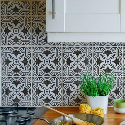 Anjos - Portuguese Tile Stencil - Floor And Wall Stencils