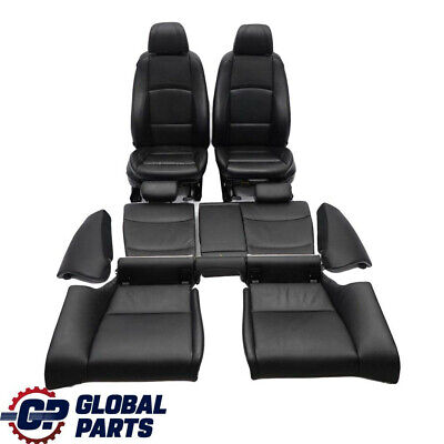 BMW 3 Series E92 Coupe Black Leather Interior Electric Seats With Door Cards