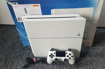 Playstation 4/ PS4 Konsole - inkl. Kabel, Original Controller, 500 GB Weiß  OVP