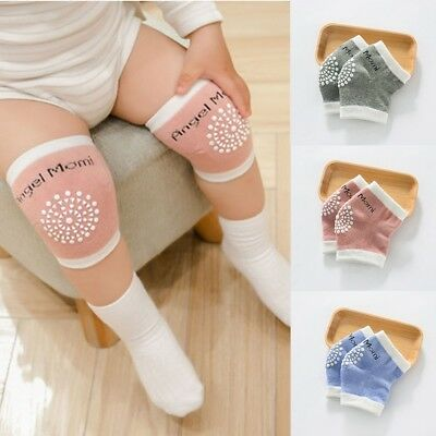 New Baby Crawling Knee Pads 3 Pairs Safety Anti-slip Walking Leg Elbow Protector