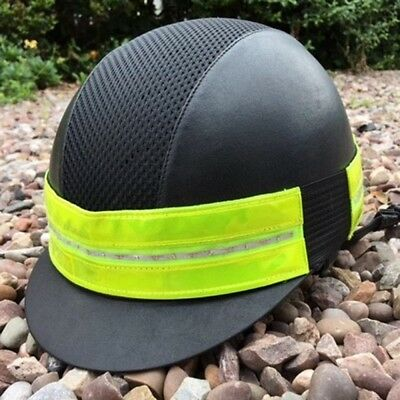 Equisafety LED Rechargeable Flashing Hat Band. Be safe...Be Seen