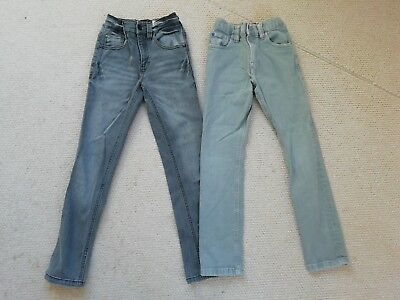 Boys Grey Jeans Age 7 NEXT ***2 PAIRS***