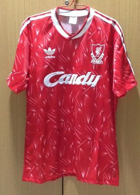 Liverpool 1989-1990 League Champions Home Retro Shirt (Large size)