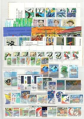 A98975/ Finlande / Finland / Lot 1990 – 1992 Full Sets Neuves ** / Mnh 253 €