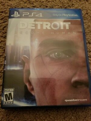 DETROIT Become Human (PS4 Sony Playstation 4)