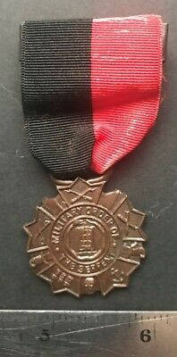 Spanish American War Puerto Rico ca1930s badge Military Order of the Serpent