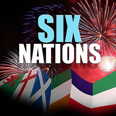 Six Nations Rugby Decor Packs England Ireland Scotland Wales Italy France