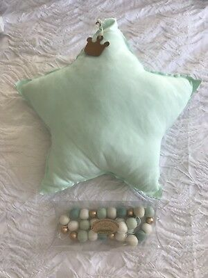 Star Cushion and Felt Pom Pom Harland