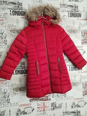 c17a2e73a NEXT GIRLS WINTER Fur Coat Mink 2-3 Years - £10.00