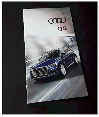 2018 18' AUDI Q5 SQ5 Deluxe Showroom Sales Brochure 37pages