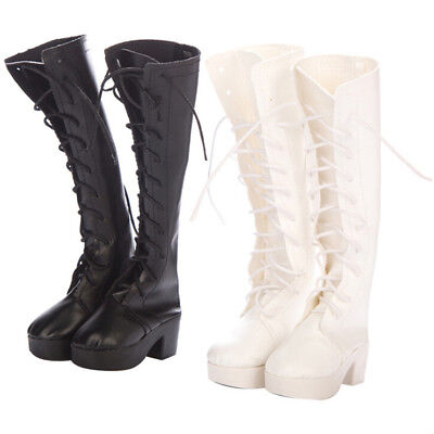 1 Pair doll high boots shoes for 60cm doll 1/3 bjd dolls party daily shoes IU