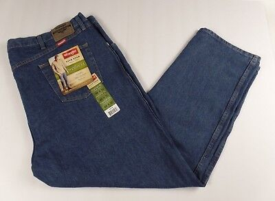 f1bd0e99010 Wrangler Men's Five Star Premium Denim Blue Jeans Regular Fit Size 48W x  30L NWT