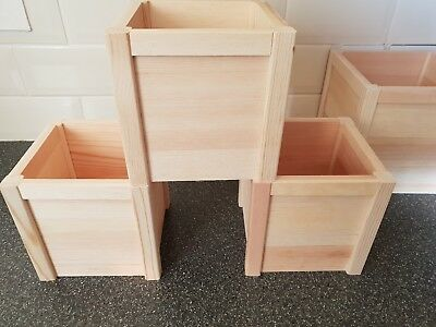 Wholesale Offer 8 x Wooden Planter Boxes...