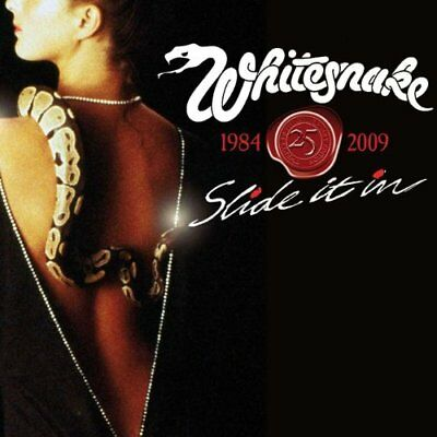 Whitesnake-Slide It In (UK IMPORT) CD with DVD NEW