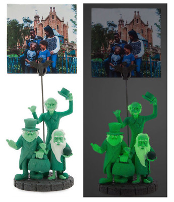 Disney Parks Haunted Mansion Hitchhiking Ghosts Glow GITD Photo Clip Frame Holde