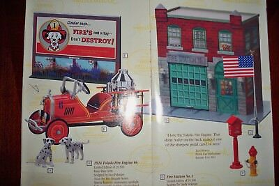 Hallmark Kiddie Car Fire Station #1
