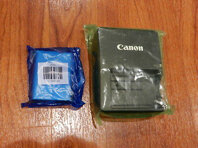 Genuine OEM Canon LC-E5 Charger + LP-E5 battery for Rebel T1i XS XSi 1000D 450D