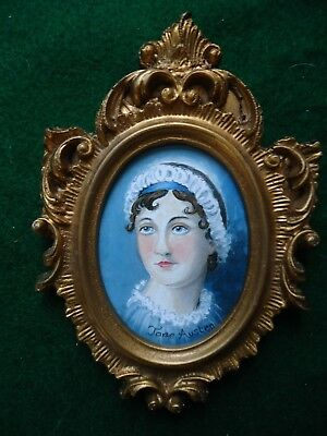 Miniature Print  Of  Jane  Austen