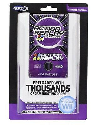 New Sealed Datel Action Replay for Nintendo GameCube/Wii Cheat Codes US CONSOLE