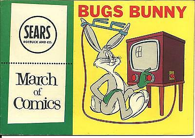 Sears Roebuck Bugs Bunny March of Comics 1954 No. 149