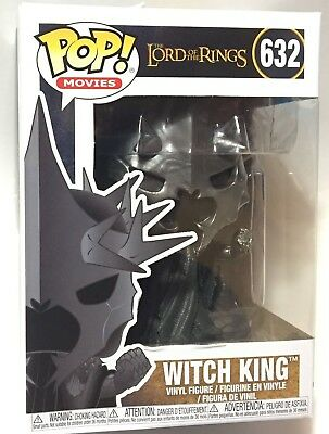 FUNKO Pop LORD of the RINGS NAZGUL WITCH KING #632 4in Vinyl Figure NEW