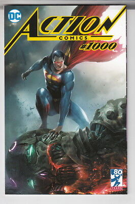 Action Comics #1000 Variant Frankie's Comics Mattina Exclusive Trade Dress Nm