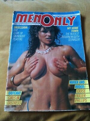 Vintage Men Only Glamour Magazine Vol 51 No 11 Featuring Louise Fraser-Phillips