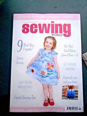 Sewing World Magazine Issue 255 May 2017 (new)