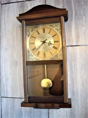 LONDON QUARTZ WALL CLOCK RESTORED - good working order.