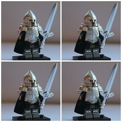 Lord Of The Rings Gondor Soldiers 1 The Hobbit Toy Mini Figures use with lego