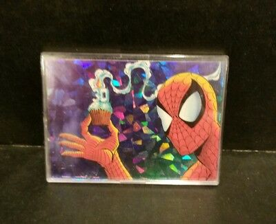 Marvel 1992 SPIDER-MAN 30TH ANNIVERSARY PRISM CHASE CARD P10 CREATING