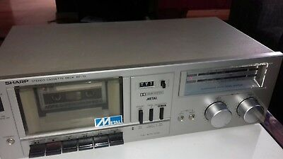 SHARP  Stereo cassette rt-10h