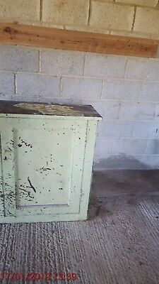 Old timber cupboard   Suitable for restoration.