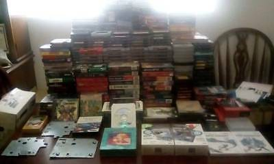Video Game Collection Lot, 423 games, NES, SNES, SEGA, RETRO, USED/NEW, Systems