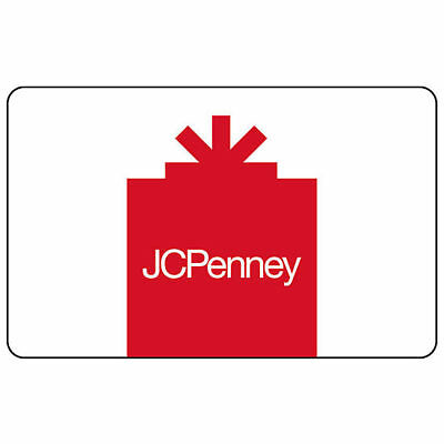 JC Penney Gift Card - $25 Value - FREE SHIPPING - JCP JCPenney 25.00 NEW