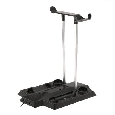 Charging Station Charger Stand Dock for PlayStation PS4 Pro Slim VR LOT HS