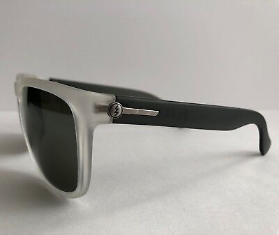 0f6346dfeff1 NEW Electric Knoxville XL Sunglasses Crystal Black w M Grey Silver Lens