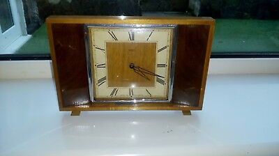 Vintage 60s 70s clock Smiths 8 Day