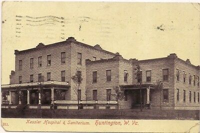1908 Huntington West Virginia Wv. Cabell County Postcard