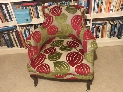 Period Bedroom Chair - Beautifully Upholstered